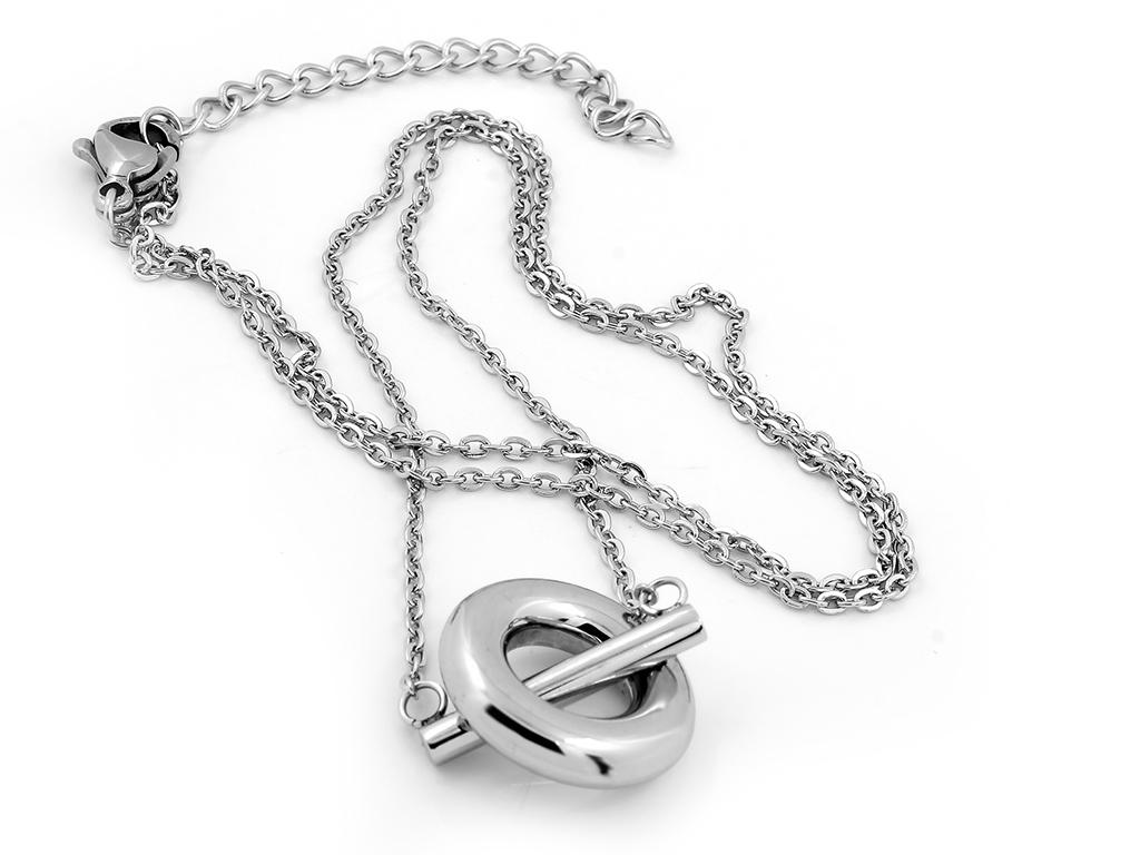 Krásný, jemný náhrdelník v decentním provedení - Chirurgická ocel...
