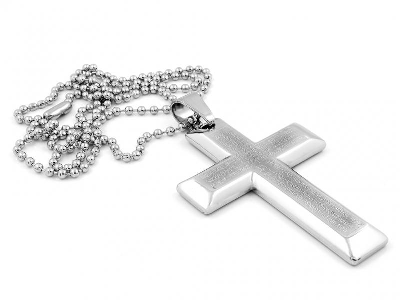kriz-s-uryvky-z-bible-a-retizek-chirurgicka-ocel