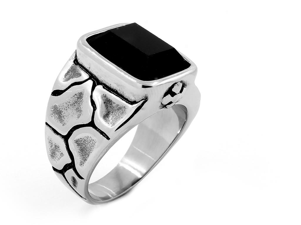 Mohutný pánský prsten, chirurgická ocel