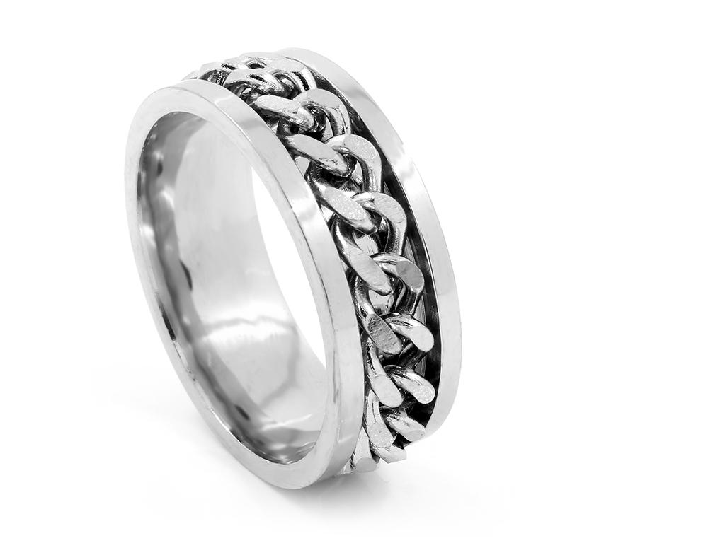 Unisex prsten - Chirurgická ocel