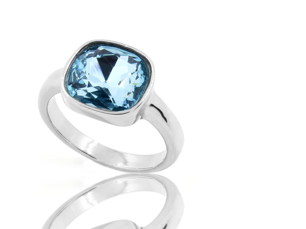 Dámský prsten - Chirurgická ocel se zirkonem